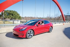Texas Transplant Takes To Tesla