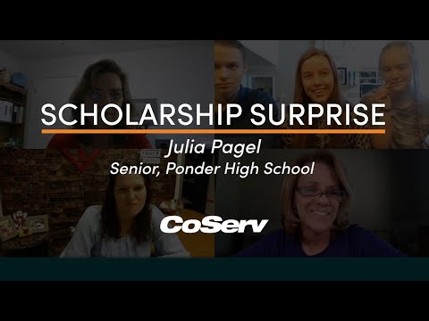 Surprise! You just won a $5,000 CoServ Scholarship