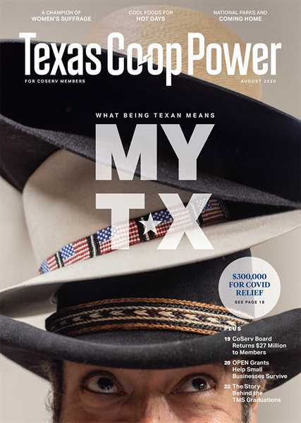 August Texas Co-op Power magazine: A new look for modern electric co-ops