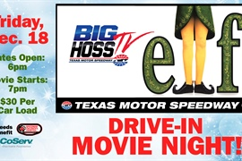 Buddy the Elf and Big Hoss for a good cause: Drive-in movie night at TMS to benefit CoServ...