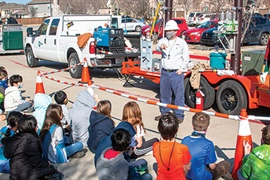 Exploding hot dogs, aerial views just part of CoServ energy education
