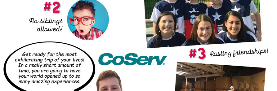 CoServ Youth Leadership Tour